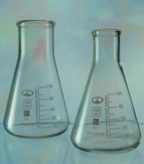 Flasks laboratory glass