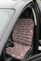 Mattress cape car from buckwheat husk