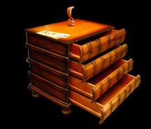 Тумба книжка
