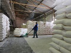 The Ukrainian Foodstuff company makes wheat flour