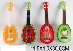 Гитара 819-18, 1537992, 180шт/2, Фрукты 4 вида 11,5 * 4 * 35,5 см
