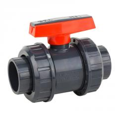 PVC ball valve Era 10 ATM-Ø 110 mm