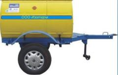 Mobile pumping units