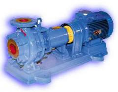 Electric pumps of K type