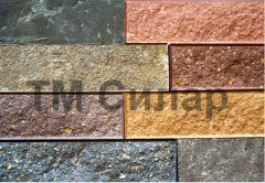 Finnish facing brick for the construction of