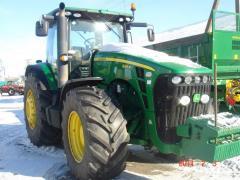 Трактор колесный John Deere 8345R
