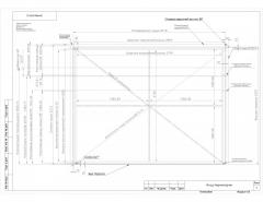 "Drawings and calculations of gate ""Z-system"