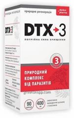 Капсулы от паразитов DTX-3 ДТИКС-3