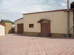 Завод по производству черепицы