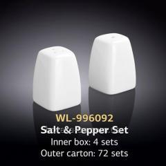 Набор соль и перец 2 пр. (Wilmax, Вилмакс,