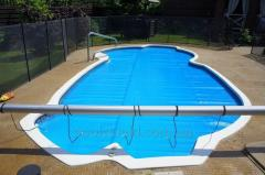 Energy-saving cover for Shield 500 pool