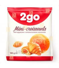 "Croissant ""2go"" com enchimento de laranja 0,18 kg"