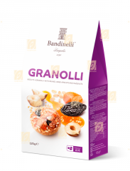 Cookies «Granolli» με αποξηραμένα βερίκοκα, δαμάσκηνα και φουντούκια 0.125 kg