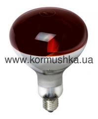 Лампа инфракрасная IR R125 красная 175 W, ...