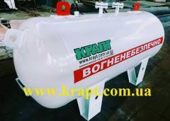 Емкость газовая для пропан-бутана 1 куб.м