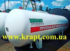 Емкость газовая для пропан-бутана 9,9 куб.м