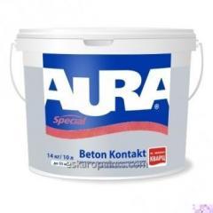 El fondo Aura Beton Kontakt adhesivo 14кг