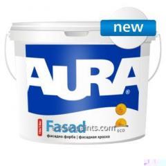 Краска для наружных и внутренних работ Aura Fasad