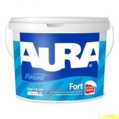 Weatherproof color for facades of Aura Fasad Fort