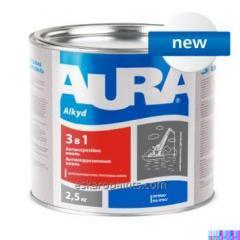 "Priming emalje korrosjon alkyd-uretan AURA «3 i 1"""