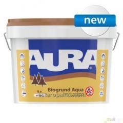 Podkład do drewna z konserwantami Aura Biogrund Aqua 9l