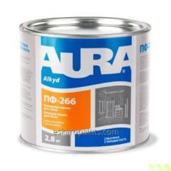 El esmalte resistente para el suelo Aura ПФ-266