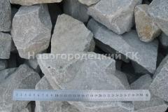 Бут гранитный 300-500 камень негабарит, камень