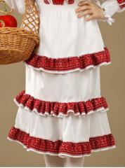 Украинская Вышитая юбка - вышиванка - фасон С 2