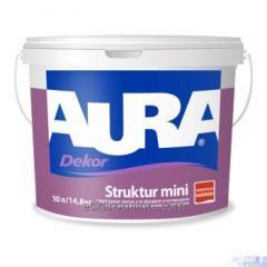 Peinture structurelle pour les façades et les intérieurs Aura Dekor Struktur mini 9.5L