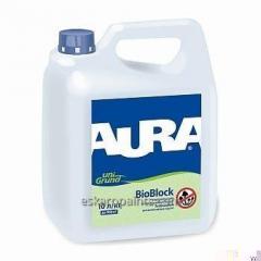 Endurecimento do solo antifúngico Aura Unigrund Bioblock 3L