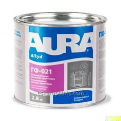 Primaire alkyde universel avec effet anti-corrosion de l'Aura GF-021