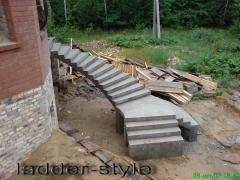 Monolithic ladders Dnipropetrovsk
