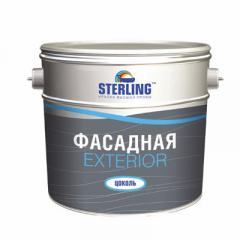 Sterling Exterior paint (socle) Semi-gloss
