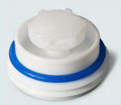 Пробка пластиковая с уплотнительным кольцом