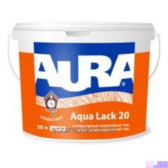 Aura Aqua manque 20 10L intérieur vernis acrylique