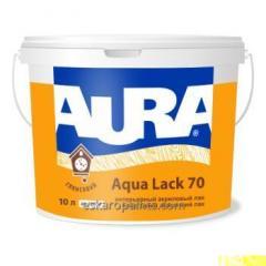 Intérieur laque acrylique Aura Aqua manque 70 10L