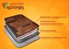 Электроковрик, инфракрасный теплый коврик с
