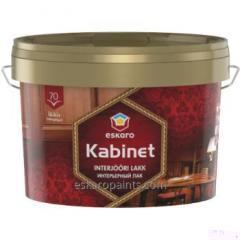 Verniz brilhante à base de água para o interior Eskaro Kabinet 70 2.4L