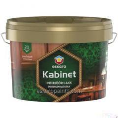 Vann-baserte halvblank maling for innvendig Eskaro Kabinet 20 9L