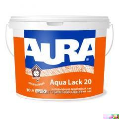 Aura Aqua Lack 20 10L interior acrylic lacquer