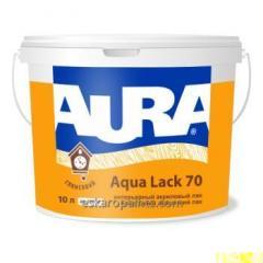 Interior acrílico Aura laca aguamarina falta 70 10L