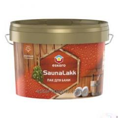 2.4L אמבטיה Nail Eskaro Saunalakk