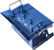 Mini-machines for house construction of garage,