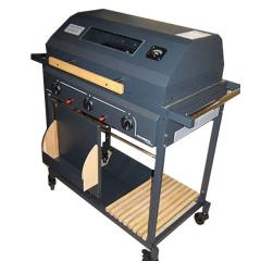"Mr. Chef gas Grill, module ""Oven with lid"" (Palazzetti)"