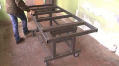 Передвижной сварочный стол, арт. 1015