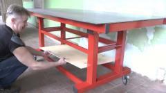 Передвижной сварочный стол, арт. 1020