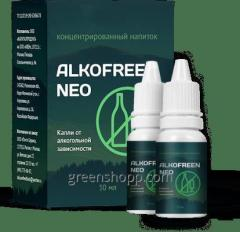 Alkofreen Neo (Neo Alkofrin) - a drop of alcohol