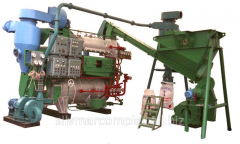 Equipment for production of fish meal and