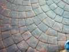 Concrete decorative stamped, color concrete