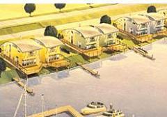 Дом на воде Строительство